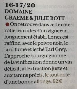 Côte-Rôtie 2018 BOTT G&J